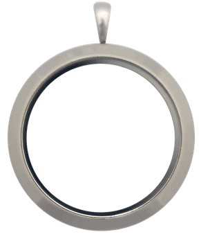 Locket Silver Full Size Plain