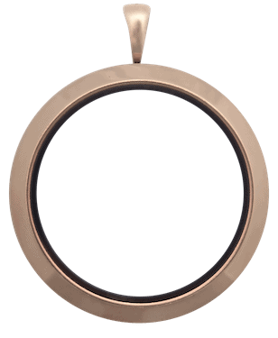 Locket Rose Gold Full Size Plain