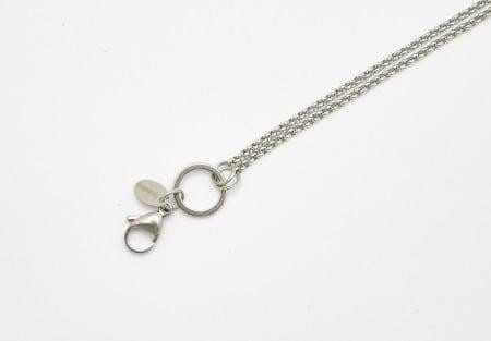 Chain Silver 80cm Rolo