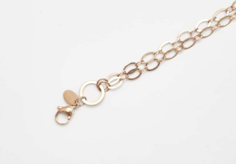 Chain Rose Gold 75cm Oval Link