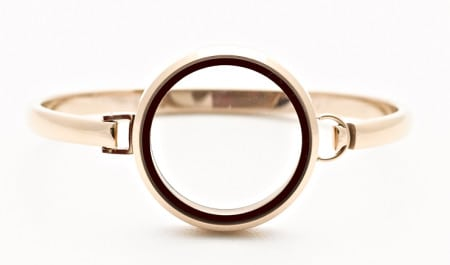 Bangle Locket Rose Gold