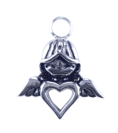 Urn Silver Angel Heart