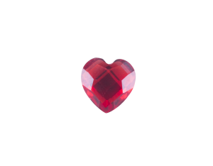 Heart - Resin Red