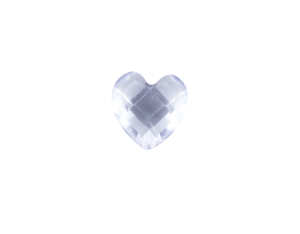 Heart - Resin Clear