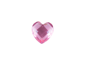 Heart - Resin Pink