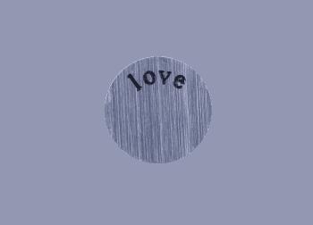 Small Plate - Love Silver
