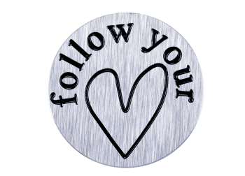 Large Plate - Follow Your Heart