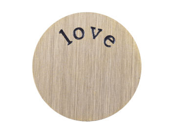 Large Plate - Love Gold