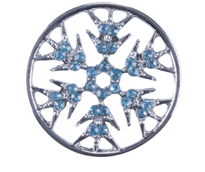 Large Plate - Snowflake