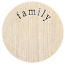 Large Plate - Family