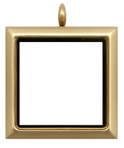 Locket Gold Standard Square Plain