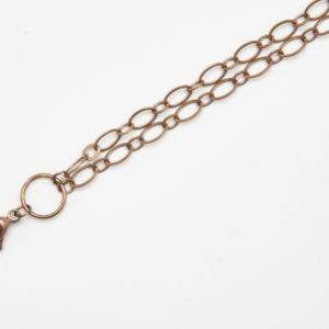 Chain Chocolate 75cm Oval Link