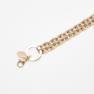 Chain Rose Gold 70cm Large Link 'O' Ring