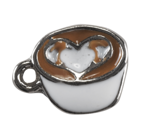 Coffee Cup with Love Heart