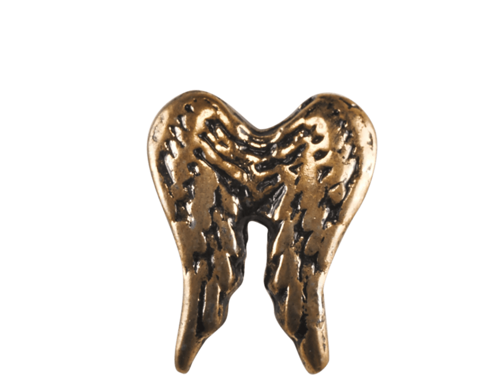 Angel Wings - Gold Double