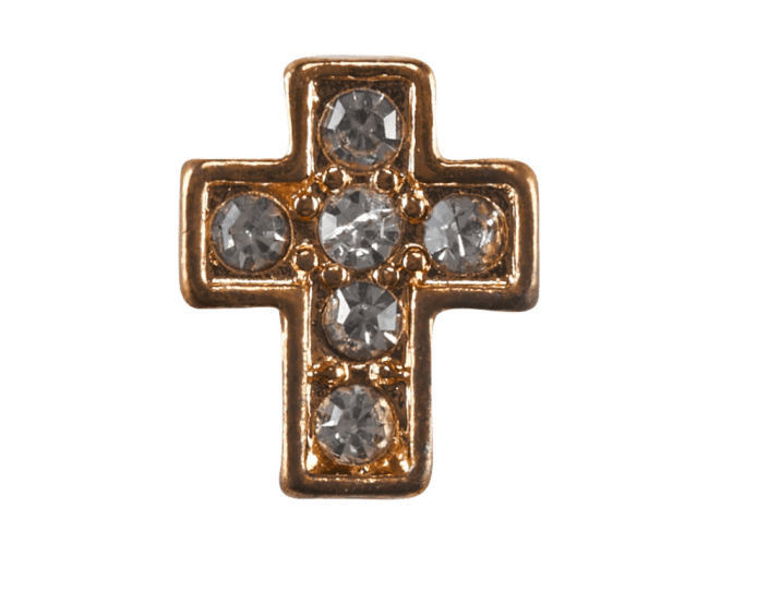 Cross - Gold Crystal