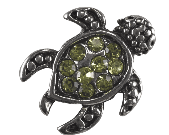Turtle - Green Crystal Shell