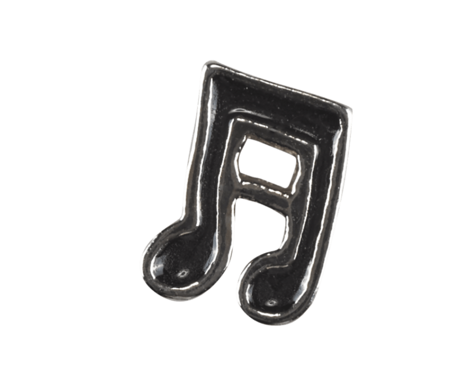 Music Note - Black