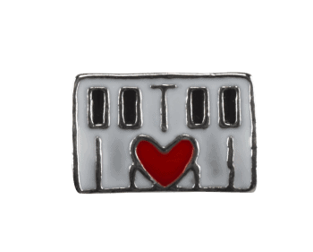 Keyboard with Red Heart