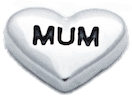 Love Heart - Mum Charm