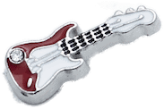 Guitar - Red and White