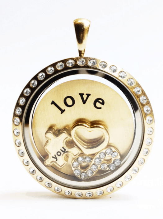 Locket Infinite Love